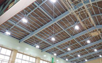 体育館LED改修工事