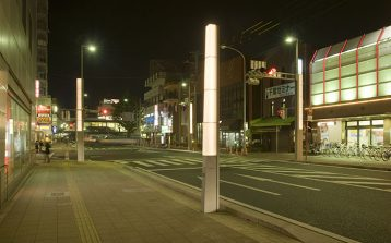 四街道市駅前外灯設置工事